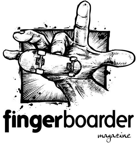 Fingerboarder Magazine Logo